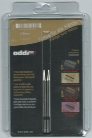 Addi Click Short Lace Needle Tips